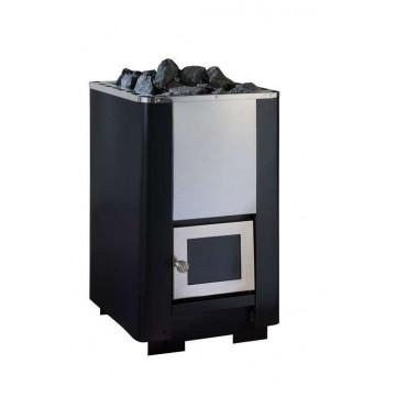 Печь для бани PAL PK-S 12 (без выноса) до 12 м.куб. + стекло 200х160мм